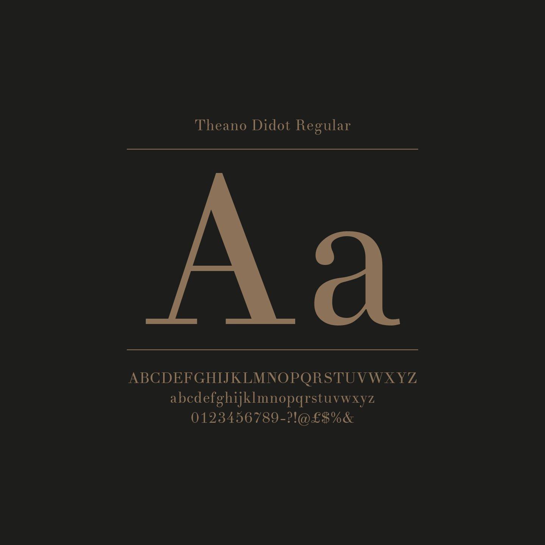 Royalton The W1 London Typography