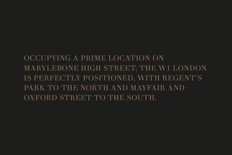 The W1 London Royalton Copy Image