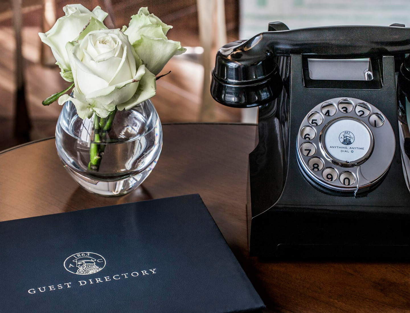 Dover Street Phone and Guest Book