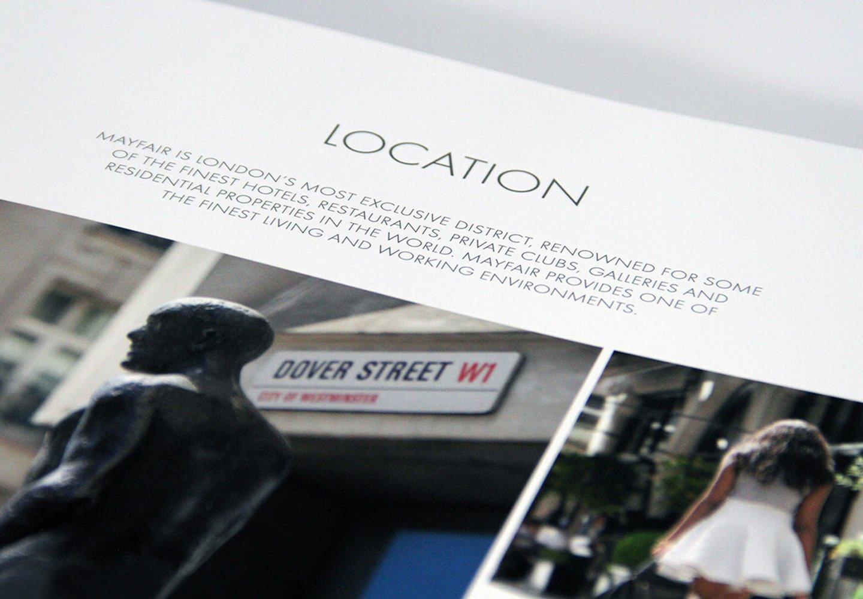 Dover Street Brochure - Location