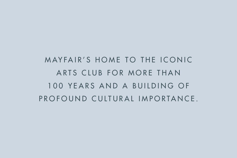 Dover Street Mayfair's Home