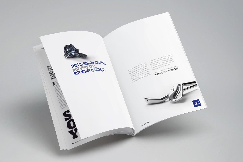 Mizuno Brochure Case Study