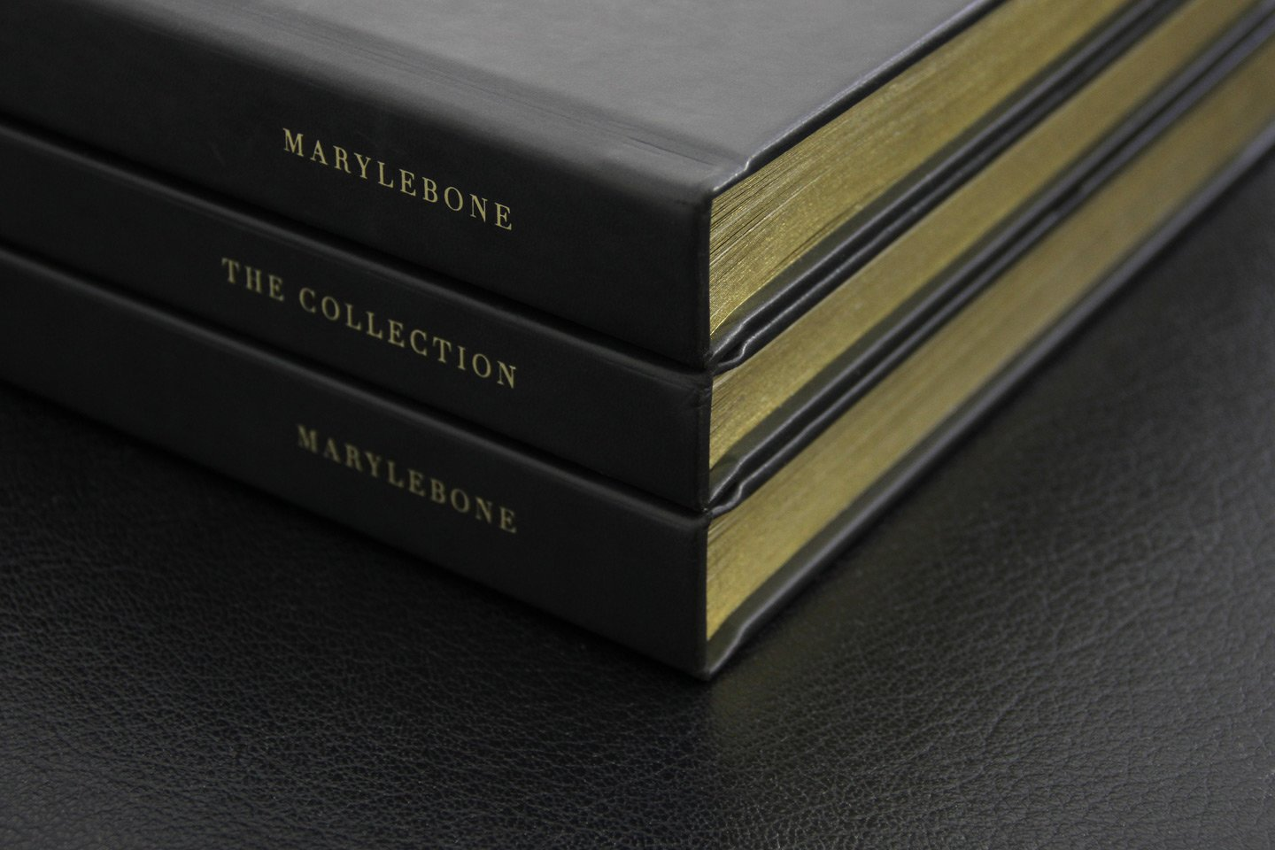 The W1 London Book Stacked