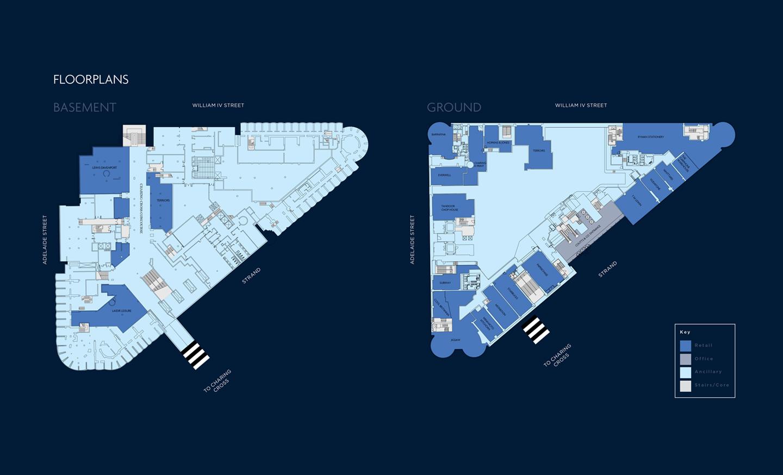 440 Strand Floorplans