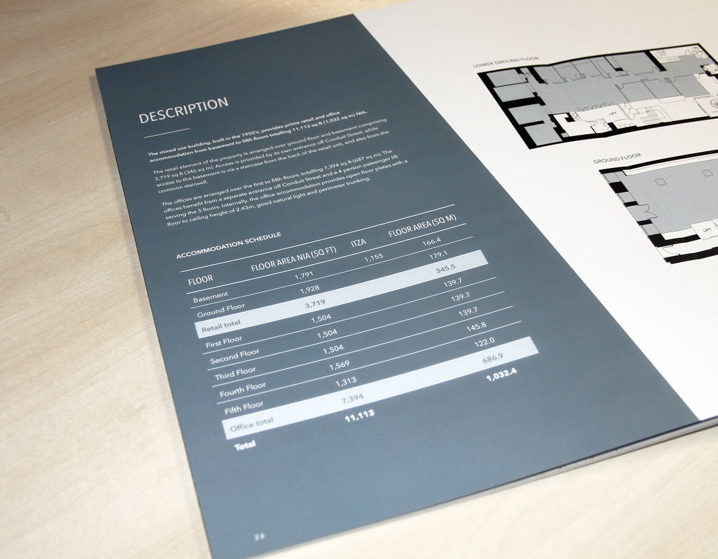 7 & 8 Conduit Street Floor Plans