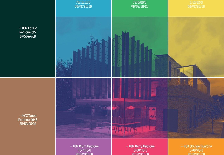 Hox Park Colour Design