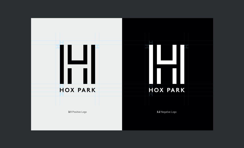 Hox Park Logo Design
