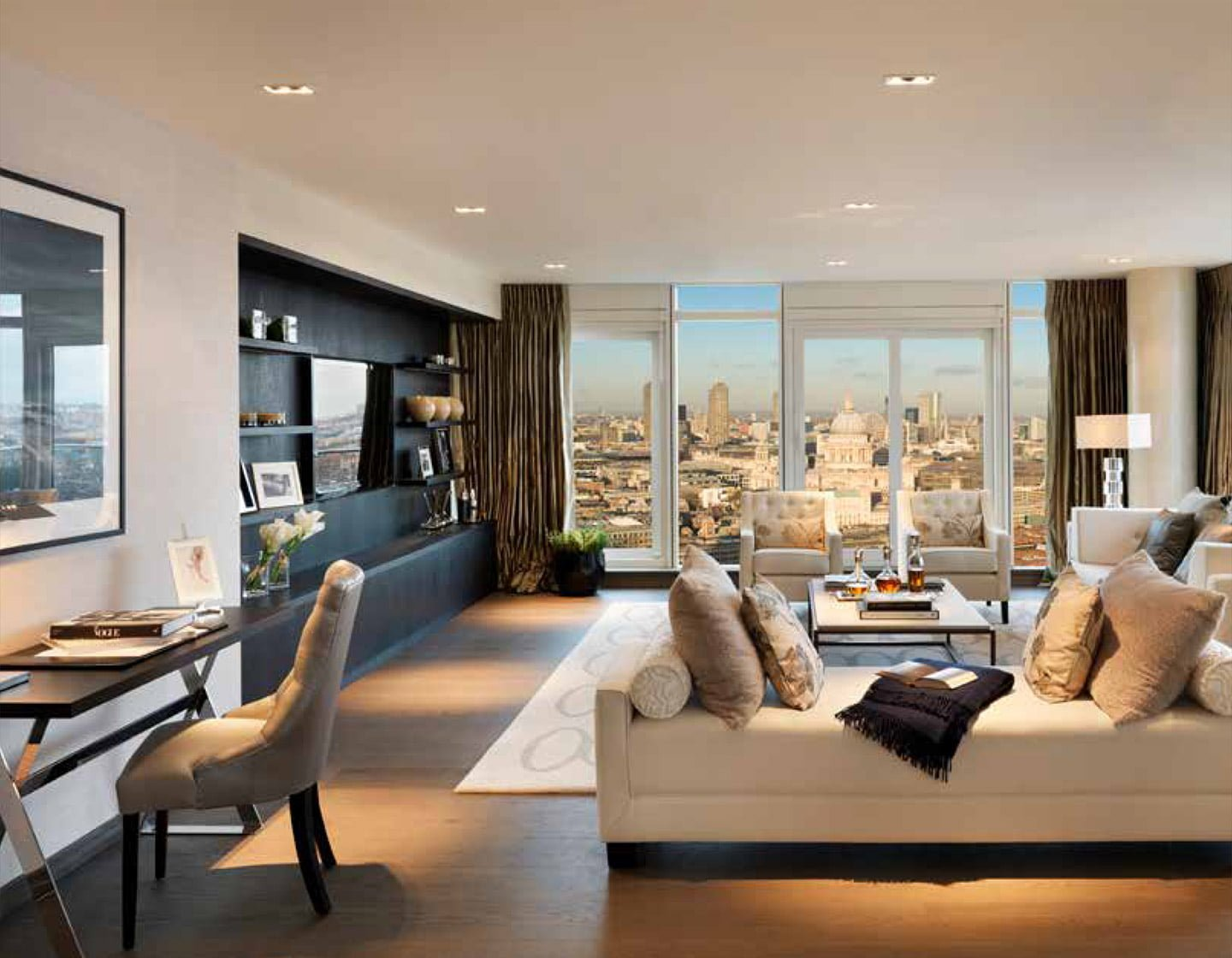 One Blackfriars Living Room