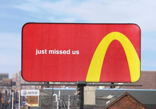 Follow The Arches McDonalds