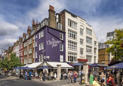 Picture of St Christopher's Place, London