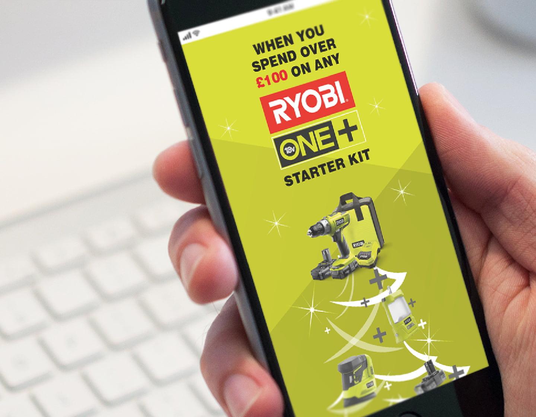 Ryobi Mobile Website