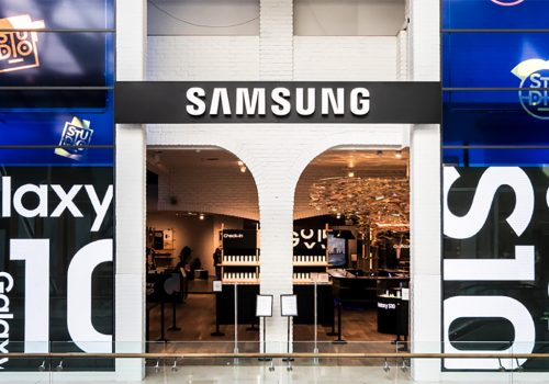 Samsung Store Entrance
