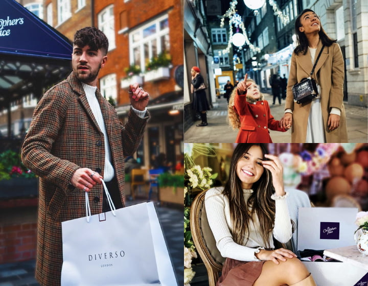 Influencer marketing by TCC for St Christopher's Place