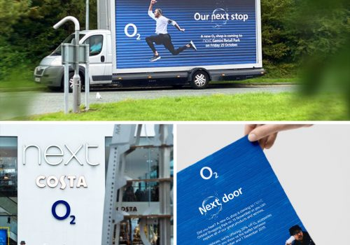 O2 Shop In Shop launch in Next stores