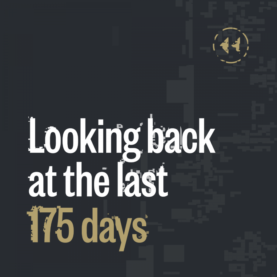 Looking back at the last 175 days of lockdown